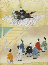 Shotoku taishi eden (Illustrated biography of Crown Prince Shotoku), fin XVIIe, début XVIIIe