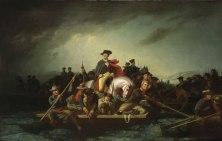 George Caleb Bingham - Washington Crossing the Delaware, 1856-71