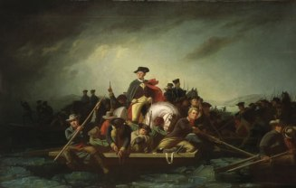 George Caleb Bingham - Washington Crossing the Delaware, 1856-71