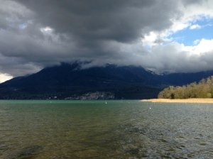 Lac d'Annecy, le Piron - mardi 8 avril 2014, vers 17 h 30 - IMG_2470