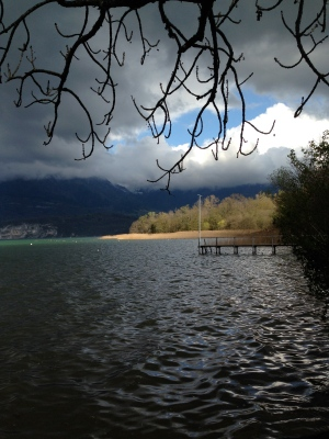 Lac d'Annecy, le Piron - mardi 8 avril 2014, vers 17 h 30 - IMG_2475