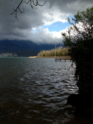Lac d'Annecy, le Piron - mardi 8 avril 2014, vers 17 h 30 - IMG_2476