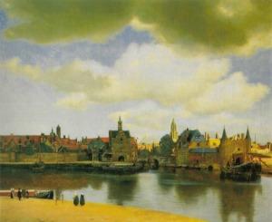 Johannes Vermeer - Vue de Delft