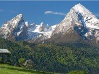 le Watzmann dans les Alpes bavaroises