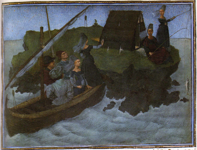 Le Livre du Coeur de l'Amour épris  Texte de René D'Anjou  Enluminures de Barthélémy d'Eyck, vers 1460-1467