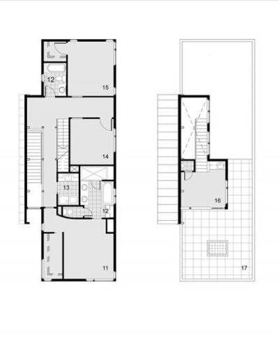 Maison bouclier de paysage en paysage for Edicule toiture terrasse