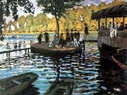 Claude Monet - Bain à la Grenouillère, 1869