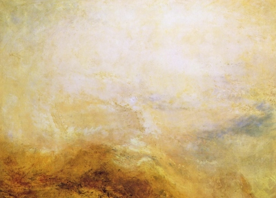 Joseph Mallord William Turner - paysage dans le Val d'Aoste, 1840-50