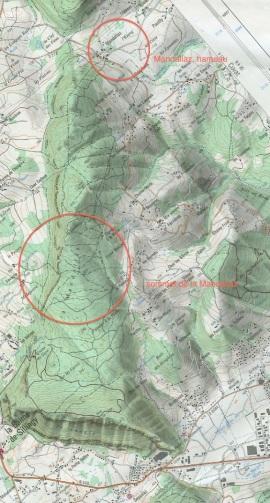 Lieux-dit Mandallaz près d'Annecy