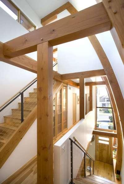 Schield House - Maison-ossature-bois-Etats-Unis-8