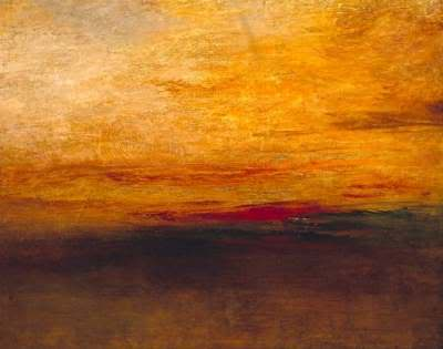 William Turner - Sunset