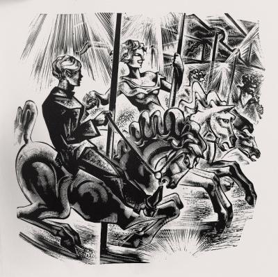Lynd Ward - Vertigo, le carrousel, 1937