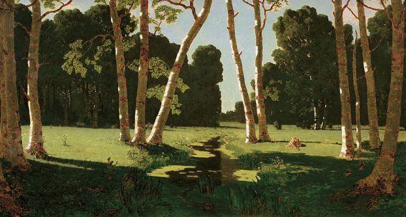 Arkhip Kuindzhi - Bois de bouleaux, 1879
