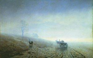 Arkhip Ivanovich Kuindzhi - La boue de l'automne, 1872
