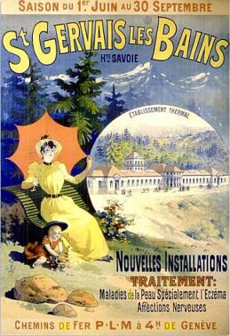 les anciens thermes de Saint-Gervais