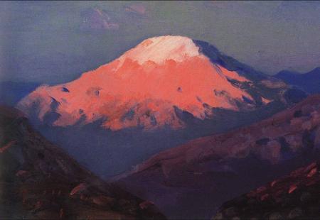 Arkhip Kuindzhi - mont Kazbek en Géorgie