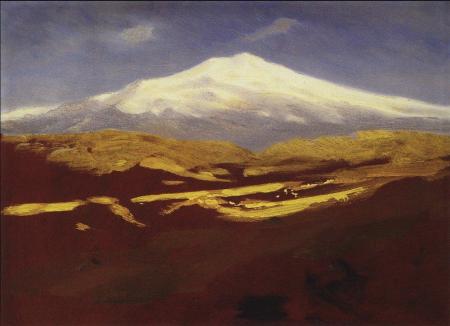 Arkhip Kuindzhi - mont Elbrouz, vers 1900