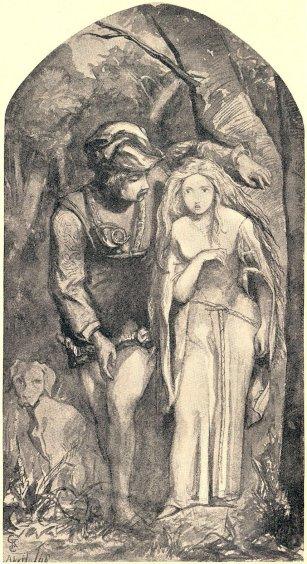 Dante Gabriel Rossetti - La Belle Dame sans Mercy,1848