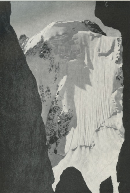 Face nord de l'Aiguille d'Argentière - photo Darbellay, Martigny