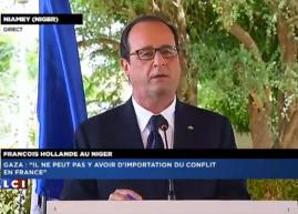 allocution de François Hollande du 19 juillet à Niamey