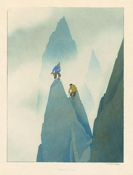 Samivel - Brouillard, 1950