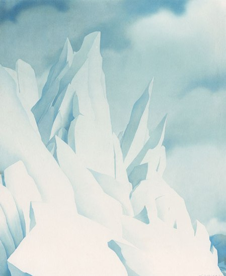 Samivel - Front de glacier au Groenland, 1949