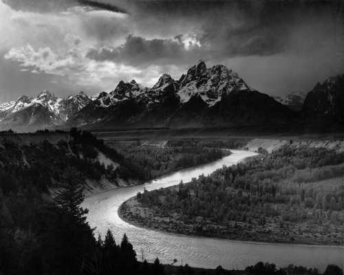 Ansel Adams - The Tetons and the Snake River
