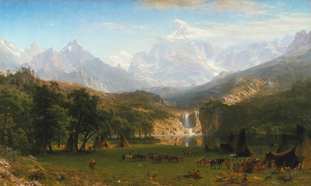 Albert Bierstadt - The Rocky Mountains, Lander's Peak, 1863