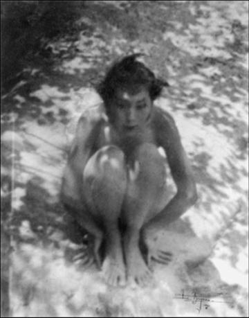 Anne Brigman - the Faun, 1921