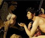 Jean Auguste Dominique Ingres (1780-1867) - Œdipe et le Sphinx (détail), 1808-1827