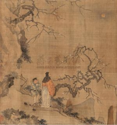Ma Yuan - contemplation