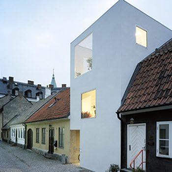 maison de ville à Landskrona en Suède- architecte Elding Oscarson, 2009