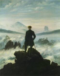 Caspar Friedrich - Au-dessus de la Mer de Nuages, 1818