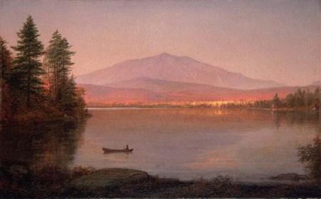 Frederic Edwin Church - Mount Katahdin from Millinocket Camp, 1895