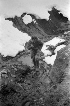 Giono en montagne - photo André Caspari