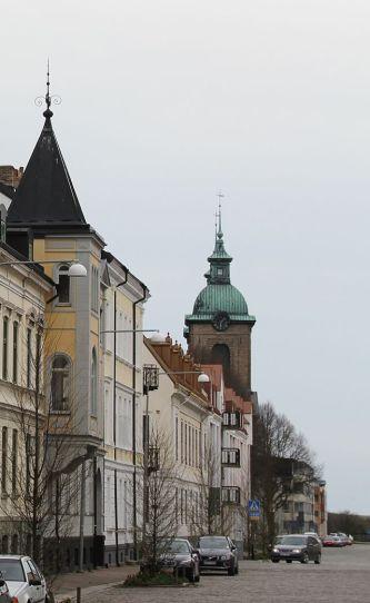 Kungsgatan_from_north_Sofia_Albertina_kyrka_IMG_5365_Landskrona