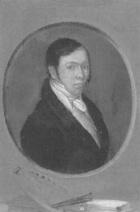 Samuel Birmann (suisse, 1793-1847) - autoportrait, 1819
