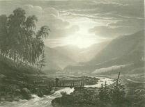Samuel Birmann (suisse, 1793-1847) - Le Col de Balme vu de la vallée d'Argentière, 1830