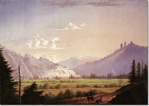 Thomas Almond Ayres - Tuolumne Meadows