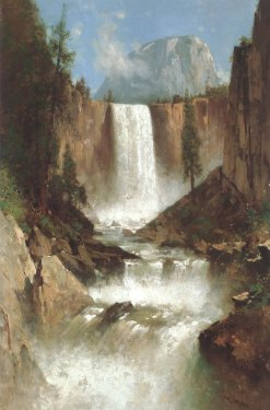 Thomas Hill- Vernal Falls Yosemite -1889.jpg