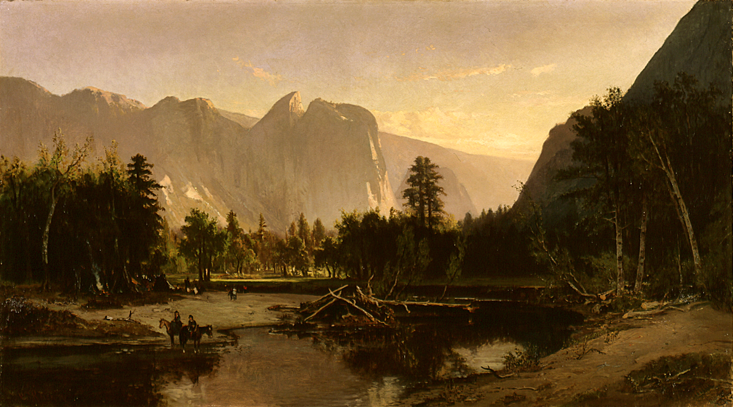 William Keith – Yosemite Valley,1875