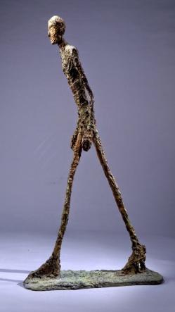 Alberto Giacometti - l'Homme qui marche II, 1960