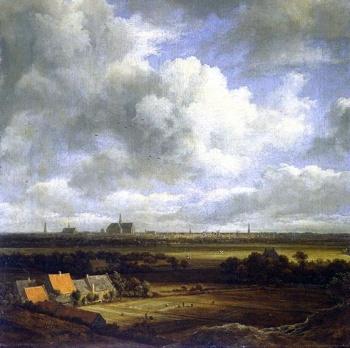 Jacob van RUYSDAEL - paysage avec nuages