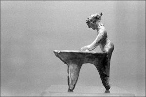 boulangère étrusque, - 300 ans avant J.-C.