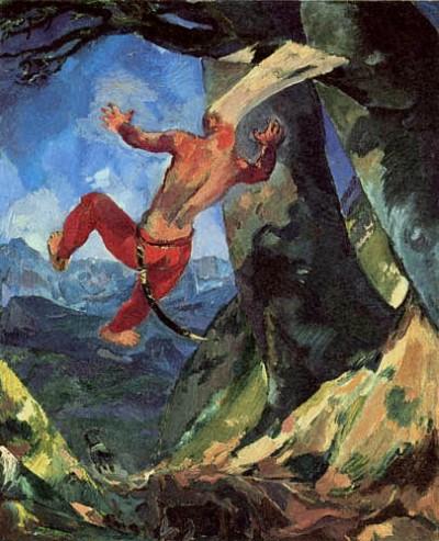 Albert Weisgerber - Absalom, 1912
