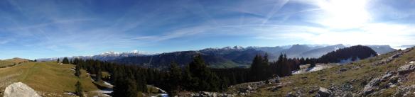 Vue panoramique de l'un des sommets du Semnoz - Capture d'écran 2014-11-08 à 21.15.29
