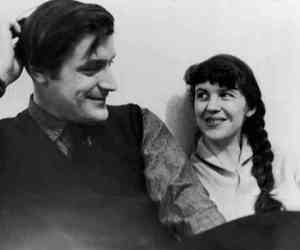 Ted Hugues et Sylvia Plath - Photographies par The Times et London Evening Standard
