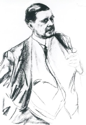 Peter Behrens (1868-1940) - portrait par Max Liebermann