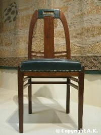 Peter Behrens - chaise, vers 1902