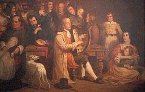 portrait de Turlough Carolan, 1844